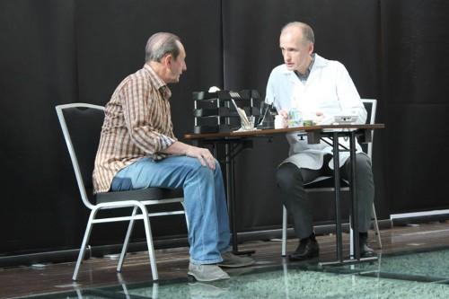 Senseless. Будва (Черногория), 2.11.2013.  Браян - Александр Рапопорт, врач-онколог - Геннадий Хворых.